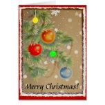 Merry Christmas! Greeting Card