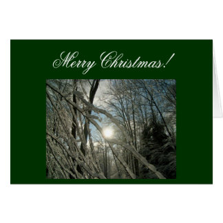 Merry Christmas! Greeting Card-Create Your Own! Stationery Note Card
