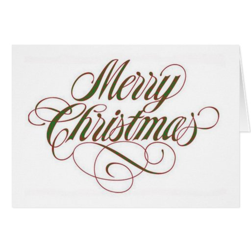 Merry Christmas! Greeting Card Template