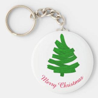 Merry Christmas. Greeting. Keychain
