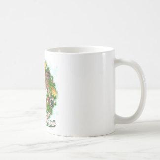 Merry Christmas Greyhound Coffee Mug