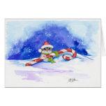 Merry Christmas Hamster by BiHrLe Card