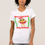 Merry Christmas Happy Holiday CHICK Tshirts