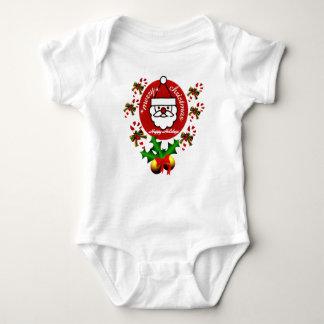 Merry Christmas,Happy Holidays_ Baby Bodysuit