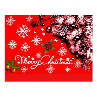 Merry Christmas,Happy Holidays_ Postcard