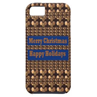Merry Christmas  Happy Holidays Text Template GIFT iPhone 5 Covers
