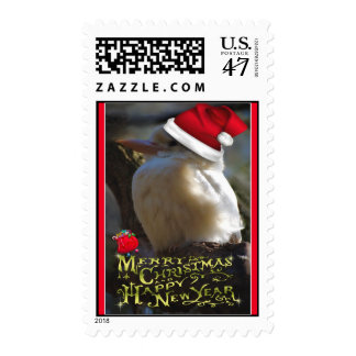 Merry Christmas Happy Holidays wishes Xmas Postage