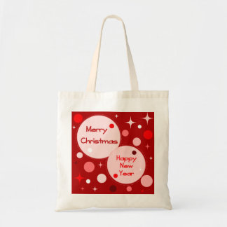 Merry Christmas Happy New Year Bag