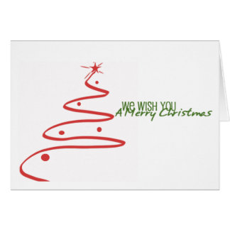 Merry Christmas & Happy New Year! Greeting Card