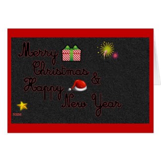 Merry Christmas & Happy New Year Cards