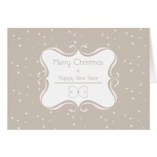 Merry Christmas & Happy New Year Greeting Cards