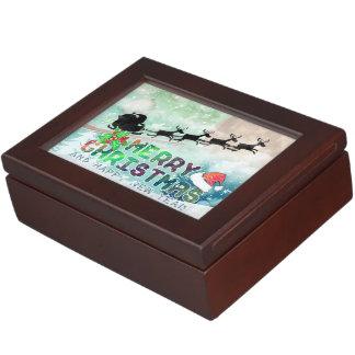 Merry Christmas & Happy New Year | Keepsake Box