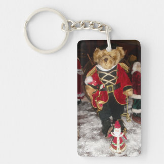 Merry Christmas Happy New Year Key Chain