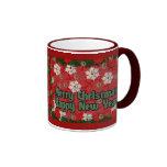Merry Christmas Happy New Year Mug