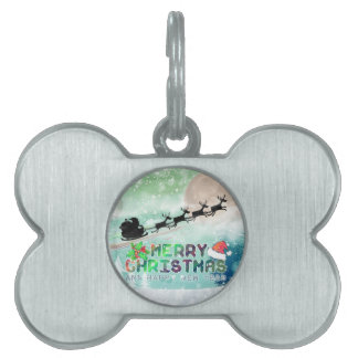 Merry Christmas & Happy New Year | Pet Tag