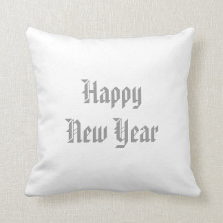 Merry Christmas/Happy New Year Reversible Pillow