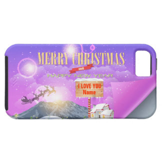 Merry Christmas Happy New Year Speck Case Options iPhone 5 Cover