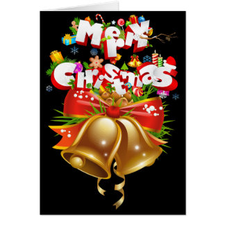 "Merry Christmas & Happy New Year Standard(5"" x 7"") Card"