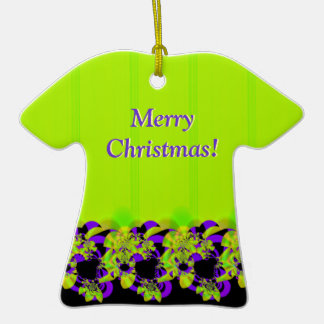 Merry Christmas & Happy New Year T-Shirt Ornament
