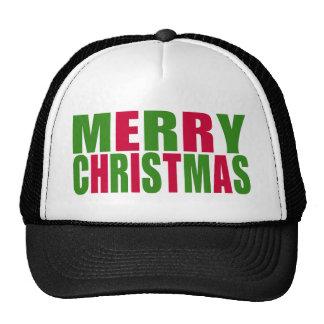 Merry Christmas Trucker Hats