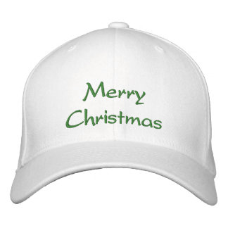 Merry Christmas Hat Embroidered Baseball Caps