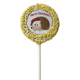 Merry Christmas! Hedgehog Chocolate Covered Oreo
