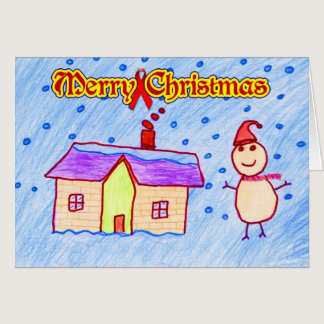 Merry Christmas ( HIV / AIDS Charity ) Card