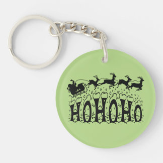 Merry Christmas-Ho Ho Ho Keychain