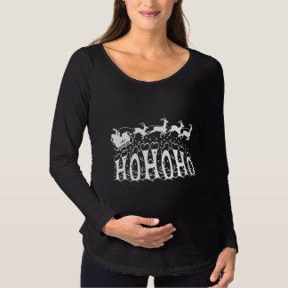 Merry Christmas-Ho Ho Ho Maternity T-Shirt