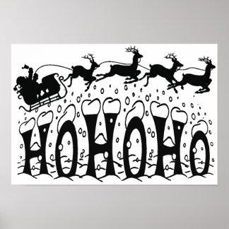 Merry Christmas-Ho Ho Ho Poster