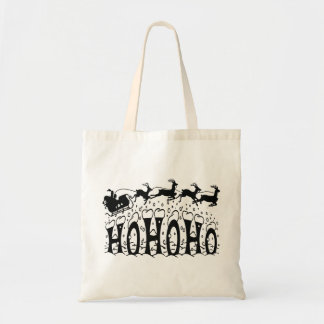 Merry Christmas-Ho Ho Ho Tote Bag