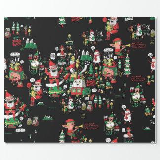 Merry Christmas HO-HO-HO wrapping paper! Wrapping Paper