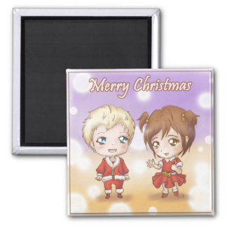Merry Christmas-Holden and Ava Magnet