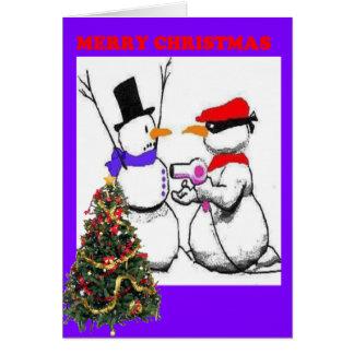 Merry Christmas Holdup Cards