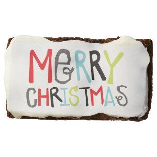 Merry Christmas | Holiday Brownies