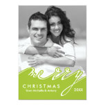 Merry Christmas Holiday Cards Custom Invite