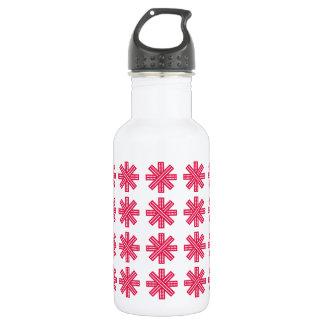 Merry Christmas  Holiday celebrations Santa Christ 18oz Water Bottle