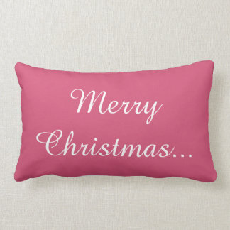 Merry Christmas  Holiday celebrations Santa Christ Throw Pillows