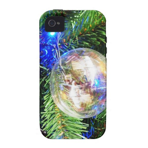 Merry Christmas  Holiday celebrations Santa Clause Case-Mate iPhone 4 Covers