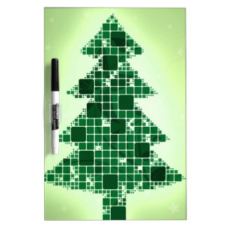Merry Christmas  Holiday celebrations Santa Clause Dry Erase Board