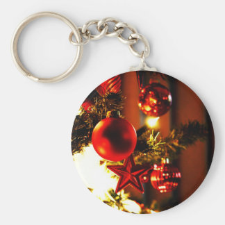 Merry Christmas  Holiday celebrations Santa Clause Keychain