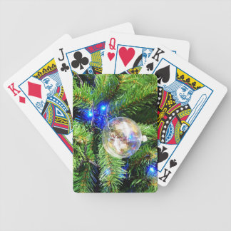 Merry Christmas  Holiday celebrations Santa Clause Bicycle Poker Cards