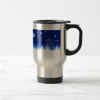 Merry Christmas  Holiday celebrations Santa Clause Travel Mug