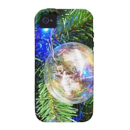 Merry Christmas  Holiday celebrations Santa Clause Vibe iPhone 4 Cover