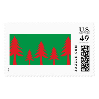 Merry Christmas  Holiday celebrations Santa Stamps
