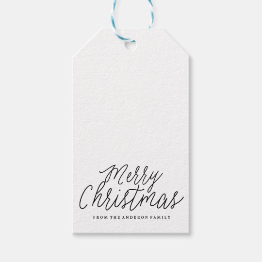 merry christmas holiday christmas gift tags zazzle com
