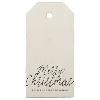 MERRY CHRISTMAS holiday christmas Gift Tags