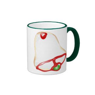 Merry Christmas! Holiday Cookie Ringer Coffee Mug