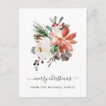 Merry Christmas | Holiday Floral