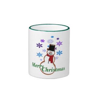 Merry Christmas holiday mug design